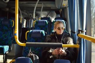 В Пензе из-за резкого торможения на пассажирку автобуса подействовал «закон притяжения»