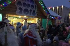 В Пензе открылся домик Деда Мороза