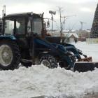 В Пензе продолжается круглосуточная неустанная борьба со снегом