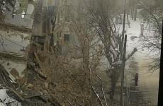 В доме№35 на Ударной рухнул еще один подъезд – соцсети