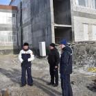 Кувайцев наведался на стройплощадку шуистинской школы
