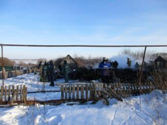 В жутком пожаре в Пензенской области погибли четыре человека