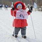 Полуторагодовалая жительница Пензы выступила на «Лыжне России»