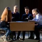 В преддверии выборов студенты пензенских колледжей провели политические дебаты