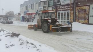 Пензенские управляйки ведут неустанную борьбу со снежной стихией