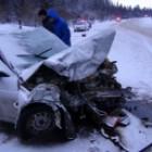 В Пензенской области на трассе М-5 столкнулись сразу четыре автомобиля