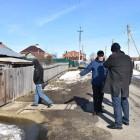 На улице Громова в Пензе произошел потоп из-за зацементированной трубы