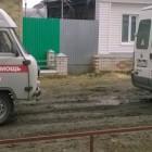 На волоске от... Сразу две «Скорые» застряли на бездорожье в Кузнецке по пути к пациентке