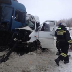 Источник: виновником аварии с 9 жертвами в Бессоновском районе стал водитель маршрутки