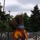 Колоритный «эквадорец-шаман» вызывал дождь в центре Пензы