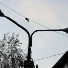 Улица Свердлова в Кузнецке погрузилась во мглу
