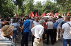 Митинг против пенсионной реформы в Пензе: всё смешалось у Железного Феликса...