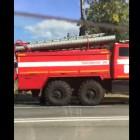 В Пензе в Терновке средь белого дня загорелось авто