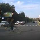 В Пензе «слепой» велосипедист выскочил под колеса несущегося авто