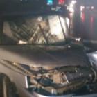 Гонки на выживание в Пензе:грузовик против легковушки