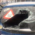 Когда успокоительные не помогают: неадекватный пензенец разгромил парковку возле ТЦ «Меридиан». ВИДЕО