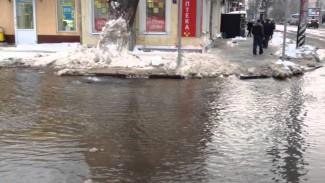 В Пензе взялись за очистку ливневой канализации