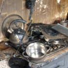 Пожар в арбековской многоэтажке: горящую кухню тушили 14 человек