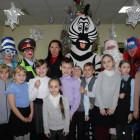 Пензенские школьники отметили «Безопасный Новый год!» вместе с сотрудниками ДПС