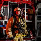 Пожарный из Заречного получил государственную награду за мужество и отвагу
