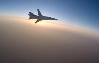 Сегодня из-за снежного заряда разбился бомбардировщик Ту-22М3