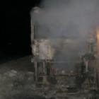 На газовой заправке под Пензой взорвалась «Газель»