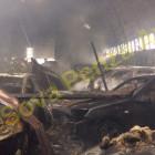 Пожар в пензенском автосалоне «Клаксон» тушили 54 человека. ВИДЕО
