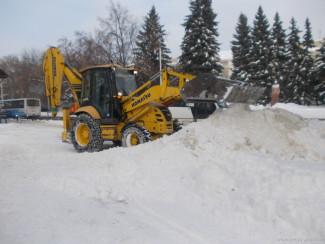 За минувшие сутки с пензенских улиц вывезли более 6 тысяч кубометров снега