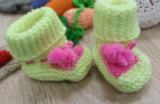 Пензенские школьники связали носочки для недоношенных младенцев