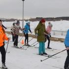 В Спутнике прошли массовые лыжные старты