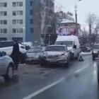 Массовая авария в центре Пензы: на месте ДТП работает «скорая». ВИДЕО