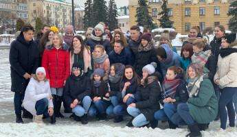 Танцы за ЗОЖ. В Пензе прошел яркий тематический флешмоб
