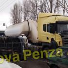 В Пензе опрокинулась грузовая «ГАЗель»
