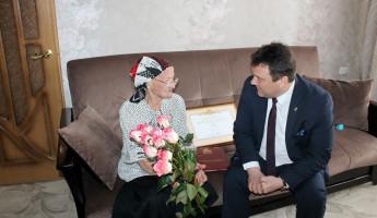 В Каменке поздравили педагога Анну Екимову со 100-летним юбилеем