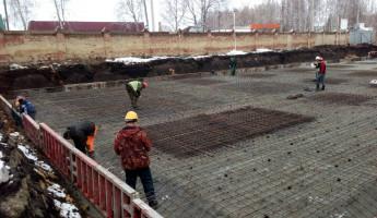 В Пензенской области полным ходом идет строительство детской поликлиники