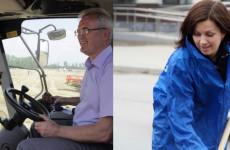 Вип-неделя: Белозерцев сел за комбайн, Куприна взяла метлу, Краснов стал элегантнее