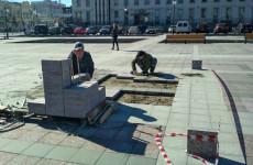 Ремонт окончен, да здравствует ремонт! На площади Ленина в Пензе начали менять плитку
