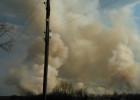 Мы горим, нас никто не спасает! В Земетчинском районе Пензенской области огонь подбирается к жилым домам, люди бьют тревогу