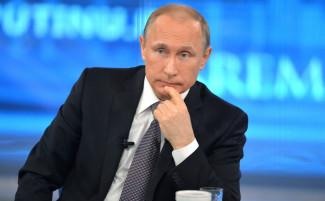 В Кремле назвали сроки проведения «Прямой линии» с Путиным