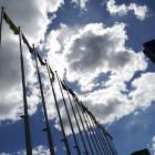 Пенза готовится к первомаю: у администрации города поменяли флаги