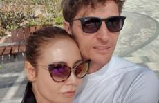 Пензенец Павел Воля и его жена Ляйсан Утяшева проводят майские праздники на горном курорте