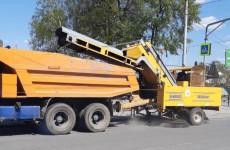 В Пензе ведется ремонт дорог и обновление разметки