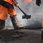 В Пензе за день заасфальтировали 3600 квадратных метров дорог