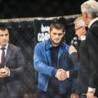 Губернатор Белозерцев и легендарный боец Хабиб на одном ринге. Как в Пензе прошел бой за чемпионский пояс MMA (ФОТО)