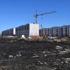 В Пензе горит микрорайон «Заря». Город в тумане