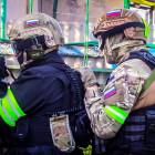 Появились снимки операции СОБРа по захвату убийцы в Пензенской области