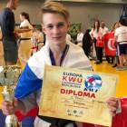Победителем первенства Европы по каратэ стал спортсмен из Пензы