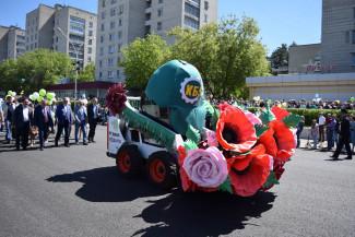 Торжественный парад в закрытом городе: как зареченцы встретили День Города