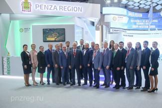 Пензенская делегация принимает участие в Петербургском экономическом форуме