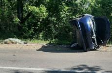 Появились ужасающие фото с места смертельной аварии под Кузнецком